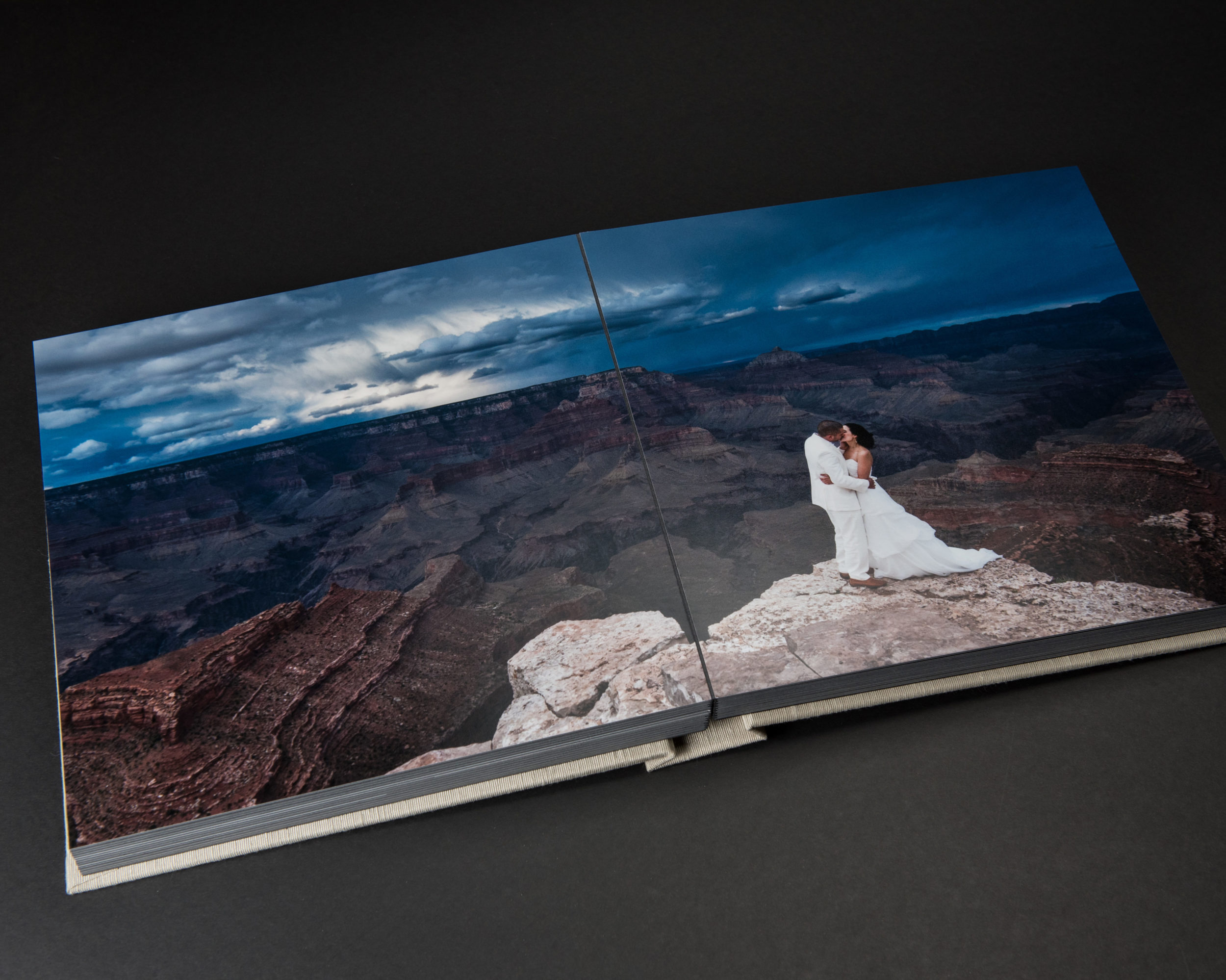 Full Panoramic Bleed Option In Matted Album I© Jared Platt