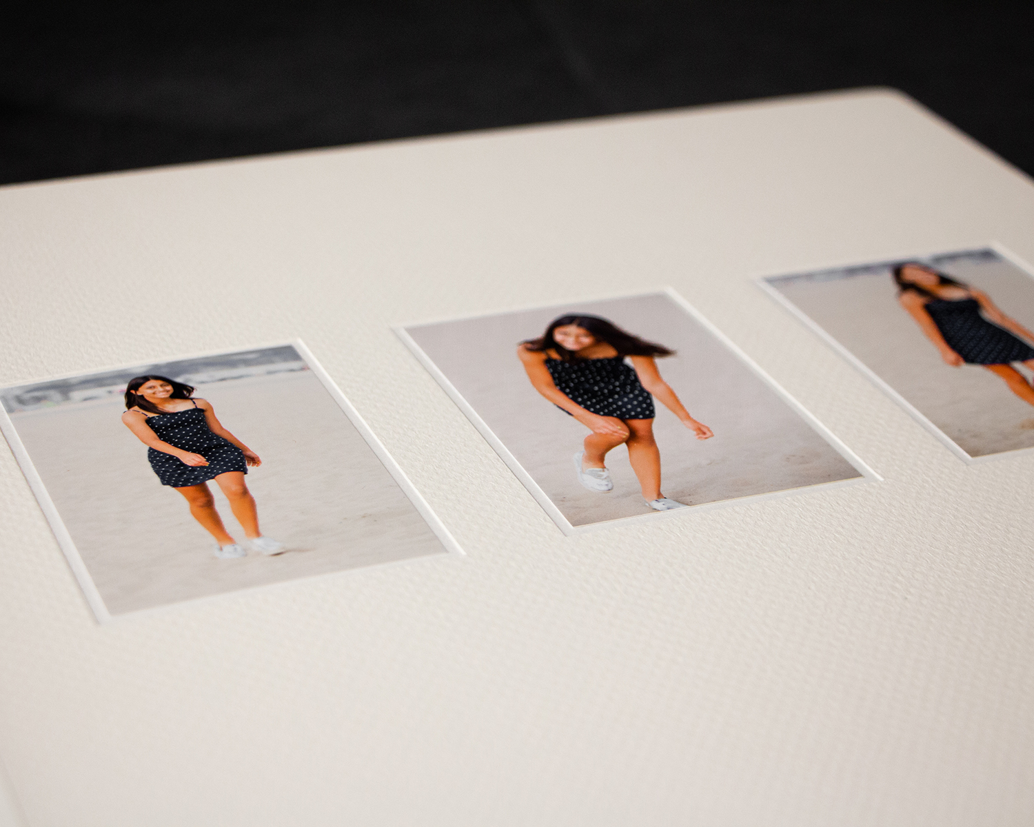 Prints Mounted Into White Frame / White Liner Combination Choice I © Studio SLB