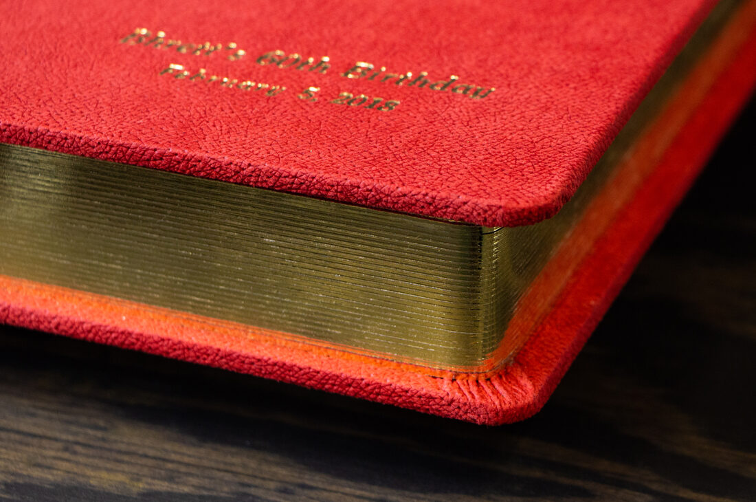 Round Cornered  Pages With Gold Gilding