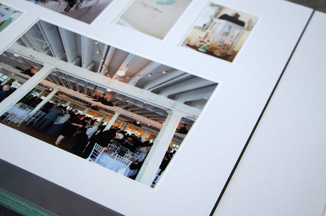 Photos Mounted Into White frame / White Liner Combination Choice I © Jeri Houseworth Photography