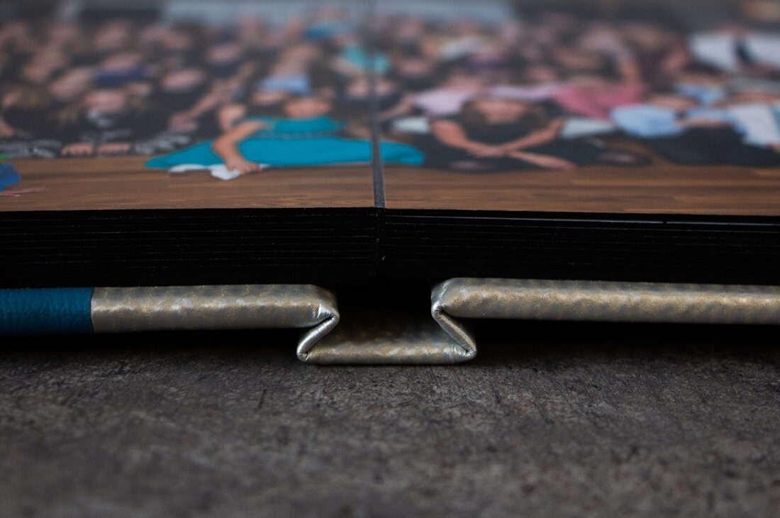 Split Edition With Black Gilded Pages   © Kenneth Berman